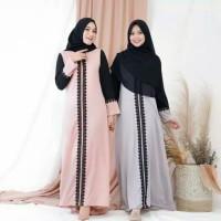 Busana Muslim Wanita Long Dress Sekar Gamis Syari Terbaru Termurah
