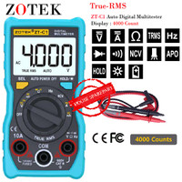 Zotek ZT-C1 Avometer Digital Multitester Digital Original AC/DC