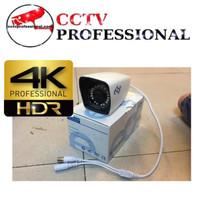 CAMERA CCTV EDGE 4K EG303 HD55 5 MEGAPIXEL SONY EXMOR OUTDOOR METAL