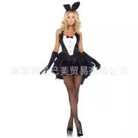 L-1429 - Lingerie Bunny Casino Girl Costume
