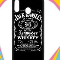 Casing Samsung Galaxy A20 Case Cover Custom Hardcase Jack Daniels I001