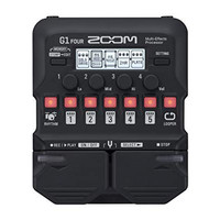 Efek Gitar Zoom G1 FOUR Multi-effects Processor with Expression Pedal
