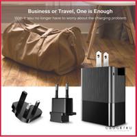 Baseus Duke Universal Travel adaptor Charger 3 Ports Fast charging