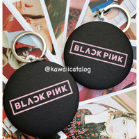 Blackpink Mirror Kaca Gantungan Kunci Keyring Limited Edition