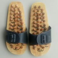 Sandal Rematik Kayu, Sendal Kesehatan Kayu, Alas Kaki Terapi Kayu