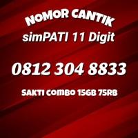 Kartu Perdana Nomor Cantik Telkomsel Simpati 11 Digit 4G