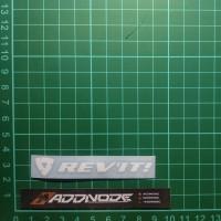 Sticker / Stiker Visor Helm Rev'it V.1 (Putih)