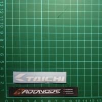 Sticker / Stiker Visor Helm Taichi V.2 (Putih)