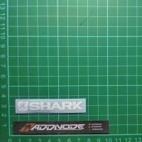 Sticker / Stiker Visor Helm Shark V.1 (Putih)
