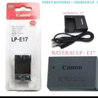paket batre charger kamera dslr canon eos m3 m5 m6 200D 750D 760D 800D