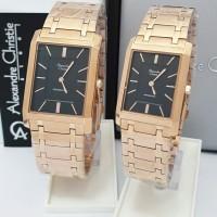 jam tangan couple Alexandre christie original AC 8606 CP