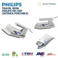 PHILIPS Setrika Travel Mini HD 1301 38 - HD1301 seterika philips