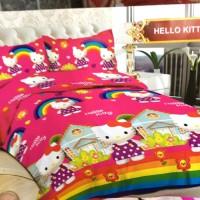 Sprei Bonita Single Size 120 x 200 Motif Hello Kitty Happy