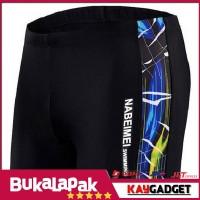 Celana Renang Pria Size XL - Black Blue Kaygadget fit n healthy