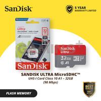 Sandisk Ultra Micro SD 32GB class 10 A1 98Mb/s microSDHC plus SD card