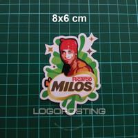 MILOS - Sticker Logoposting Ricardo Milos Nestle Milo Stiker