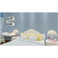 10 MTR - Wallpaper sticker pjg 10 meter, motif Bata Blue Tekstur