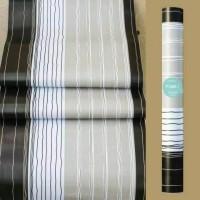 tisyaShopz Wallpaper Sticker Panjang 10 meter, motif Garis Hitam,