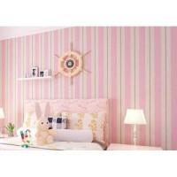 Wallpaper sticker garis Pink Merah uk:45 cm x 10 meter   walpaper