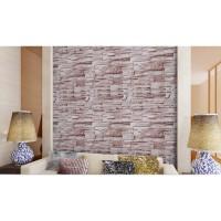 FREE ONGKIR - Wallpaper Sticker uk: 45 cm x 10 meter, Batu Alam Grey