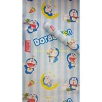 Walpaper dinding Doraemon Garis 45 cm x 10 meter wallpaper sticker
