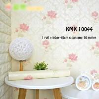 tisyaShopz Wallpaper sticker uk: 45 cm x Pjg 10 meter Mawar Pink /