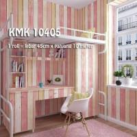Wallpaper sticker Vintage pink krem 45 cm x 10 meter walpaper dinding