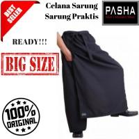 Sarung Polos Pasha Celana Sarung Black Jumbo Sarung Instan Sarung Prak