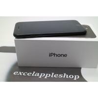 iPhone 7 32gb blackmatte second fullset mulus