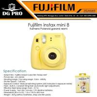 NEW Fujifilm instax mini 8 - Kamera Polaroid garansi resmi ORIGINAL
