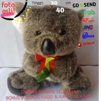 Mainan Edukasi Edukatif Anak Bayi Baby Boneka Hewan Binatang Koala Abu