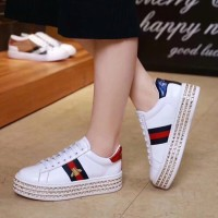 Murah Jual sepatu branded wanita cewek gucci sneaker platform kw