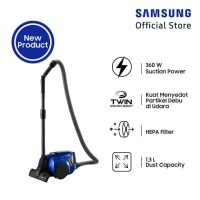 SAMSUNG Canister Vacuum Cleaner VCC4540S36/XSE