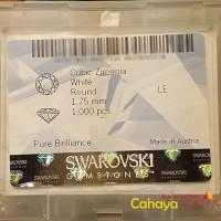 PER PAK Size 1 75mm Sirkon Batu Permata Cubic Zirconia SWA UhGgZ10508