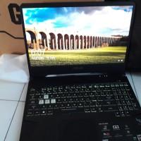 asus tuf gaming fx505dd baru 4 hari ryzen 5/8 gb/1 tb/gtx 1050 3 gb