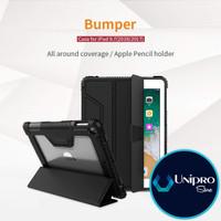 Flip Cover Nillkin Leather Bumper Magnetic iPad 9.7 iPad 6 2018 Case