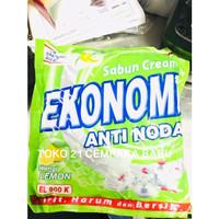 Sabun Cream Ekonomi Anti Noda LEMON EL 900 K | Sabun Colek Krim E900K