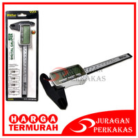 MOLLAR SIGMAT PLASTIK 150 MM LCD SCREEN DIGITAL CALIPER JANGKA SORONG