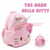 Tas Ransel Anak Hello Kitty Kids Backpack Cute Pink Kado Balita Cewek