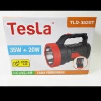 Senter Lampu LED 35 WATT + Emergency 20 WATT Merk Tesla Type TLD 3520