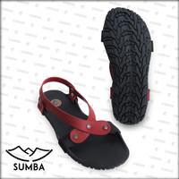 [Official] Sandal Camou Wanita SUMBA Merah