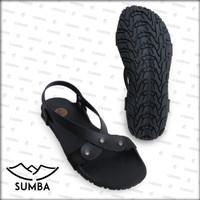 [Official] Sandal Camou Wanita SUMBA Hitam