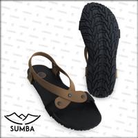 [Official] Sandal Camou Wanita SUMBA Caramel