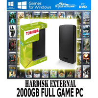 Hardisk External 2000GB 2TB Full Game PC | Laptop