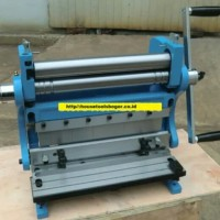 mesin roll plat besi manual 1x610mm 3 in 1 roll plat besi manual