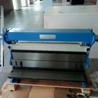 mesin roll plat besi manual 1.5x1320mm tekuk plat besi manual