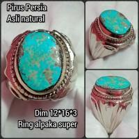 cincin batu akik permata pirus Persia 05