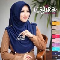 Grosir Jilbab (1Kg=9Pcs) Isaura Hijab Jilbab Instant Murah
