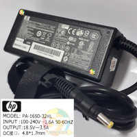 Adaptor Charger Laptop HP Compaq 510 Adaptor Charger 4.8 x 1.7 mm