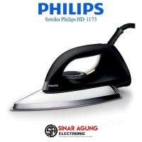 SETRIKA PHILIPS / DRY IRON HD 1173 [350 WATT] - Hitam